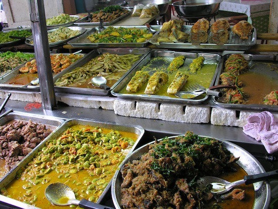 Southern Thai food on the Bangkok food walk.