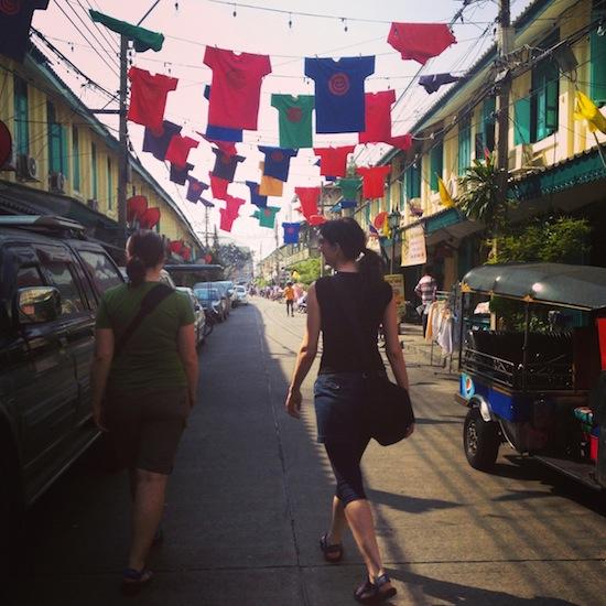 Exploring Bangkok's old town